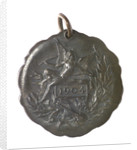 Medal commemorating Christopher Columbus (1451-1506) and the Inauguration of the Theatre Colon, Rosario, 1904; reverse by unknown