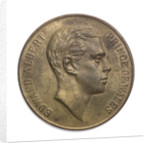 Medal commemorating the visit of  the Prince of Wales to Argentina, 1925; obverse by J.M. Lubary