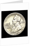Coin commemorating the discovery of Hawaii by James Cook, 1778; obverse by unknown