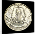 Medal commemorating the 150th anniversary of the battle of Lake Erie, 1963; obverse by Heraldic Art