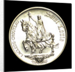 Medal commemorating the bicentennial of St Louis, 1964; obverse by Heraldic Art