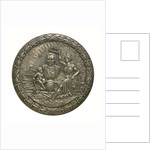 Medal commemorating the 400th anniversary of the discovery of America, 1892; obverse by unknown