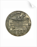 Medal commemorating the 400th anniversary of the discovery of America, 1892; reverse by unknown