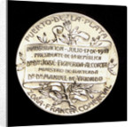 Ingot commemorating the inauguration of the free commercial port of La Plata, 1910; reverse by J. J. Gottuzzo & Ca.