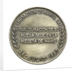 Venezuelan Naval School badge; reverse by unknown