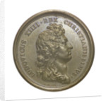 Medal commemorating Louis XIV and the Paris Observatory; obverse by J. Mauger