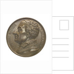 Commemorative medal depicting Joseph Louis La Grange (1735-1813); obverse by Donadio