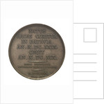 Commemorative medal depicting Christian Huygens (1629-95); reverse by Henrionnet
