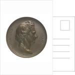 Commemorative medal depicting Dominique Francois Jean Arago (1786-1855); obverse by A.F.A. Bovy