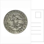 Medal commemorating the quartercentenary of the death of Nicholas Copernicus, 1943; obverse by Wojciech Jastrzebowski