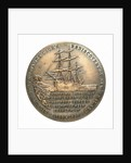 Medal commemorating the bicentenary of James Cook's rediscovery of New Zealand, 1969; reverse by Royal Australian Mint