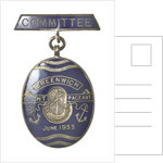Badge of the Greenwich Pageant, 1933; obverse by Fattorini & Son Ltd.