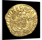 Coin - half-angel; reverse by unknown