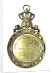 Pendant medallion presented to Captain Stone, 1891 of the 'Pegasus'; obverse by unknown