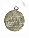 Medal commemorating the surrender of the Emperor Napoleon I, 1815; reverse by J. Mudie