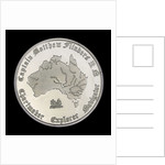 Medal commemorating Captain Matthew Flinders (1774-1814), bicentenary, 1974; obverse by Lincolnshire & South Humberside Arts