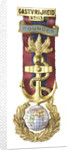 Masonic medal; obverse by H.G. Groneen