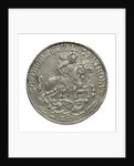 Commemorative medal depicting St George; obverse by unknown