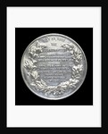 Medal commemorating the Battle of Jutland, 1916; reverse by Marquis of Milford Haven