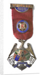 Steward's Badge of the RMBI 1928 North Wales; obverse by G. Kenning & Son