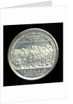Medal commemorating the centenary of the Battle of Trafalgar 1905; reverse by Spink & Son Ltd.