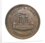Medal commemorating the return of Halley's Comet 1985-1986; reverse by A. Dassier
