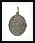 Medal commemorating the visit of the Prince and Princess of Wales to India, 1905-1906; reverse by Elkington & Co. Ltd.