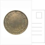 Medal commemorating John Rennie (1761 - 1821); reverse by Bain