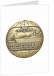Medal commemorating Polish Ocean Lines 40 Years of Polish Shipping Across The Atlantic 1930 - 1970; obverse by unknown