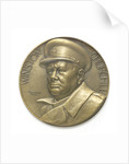 Medal commemorating Sir Winston Churchill (1874-1965) and the Liberation of France, 1945; obverse by Pierre Turin