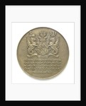 Medal commemorating Sir Winston Churchill (1874-1965) and the Liberation of France, 1945; reverse by Pierre Turin
