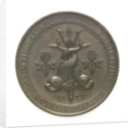 Medal of the Maritime and Piscatorial Exhibition - 1877; obverse by Elkington & Co. Ltd.