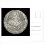 Commemorative counter depicting King James I and Prince Charles; reverse by unknown