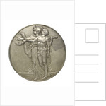 Medal commemorating the unveiling of the Cenotaph, Whitehall; reverse by C.L. Doman