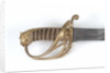 Open half-basket hilted sword by Osborn & Gunby