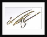 Presentation sword, with Trafalgar scabbard and sword belt by R. Teed