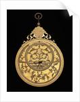 Astrolabe: obverse by Muhammad Mahdi al-Yazdi