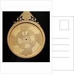 Astrolabe: mater by Muhammad Mahdi al-Yazdi