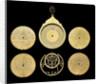 Astrolabe: dismounted obverse by Qasim 'Ali Qayini