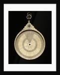 Astrolabe: mater obverse by Muhammad Muqim al-Yazdi