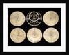 Astrolabe: obverse of plates by Muhammad Muqim al-Yazdi
