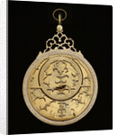 Astrolabe: mounted obverse by Muhammad Muqim ibn Mulla 'Isa