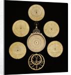 Astrolabe: dismounted obverse by Muhammad Muqim ibn Mulla 'Isa