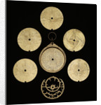 Astrolabe: dismounted obverse by al-Sarraj