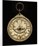 Astrolabe: mounted obverse by al-Sarraj