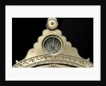 Astrolabe: front of throne with compass by Muhammad ibn Ahmad al-Battuti