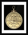 Astrolabe: mounted obverse by Jean Naze