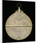 Astrolabe: mounted reverse by Adrian Descroli
