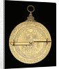 Astrolabe: mounted reverse by Georgius Hartmann