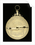 Astrolabe: mounted reverse by Ferdinand Arscenius